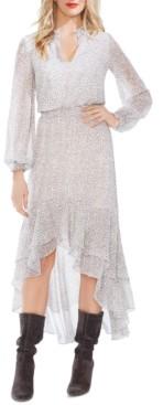 1 STATE X Jaime Shrayber Printed High-Low Dress