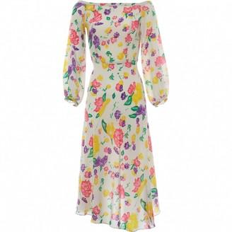 Tata-Naka Tata Naka Multicolour Silk Dress for Women