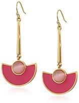 Kate Spade Pink Linear Earrings