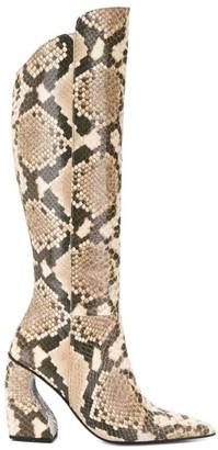 Marques Almeida High-Knee Boots
