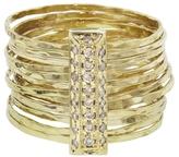 Jacquie Aiche Diamond Brick Multi-Waif Ring