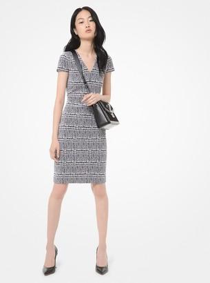 MICHAEL Michael Kors Plaid Jacquard Dress