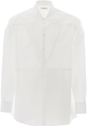 Valentino Oversized V Logo Shirt