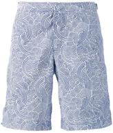 Orlebar Brown 'Seersucker' swim shorts - men - Polyester - 28