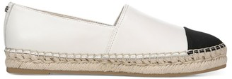 Sam Edelman Botanical Gardens Krissy Cap-Toe Leather Espadrilles