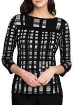 Nic+Zoe Petites Cove Three-Quarter Sleeves Sweater