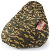 Boscoman Pear-Shaped Camouflage Beanbag Chair