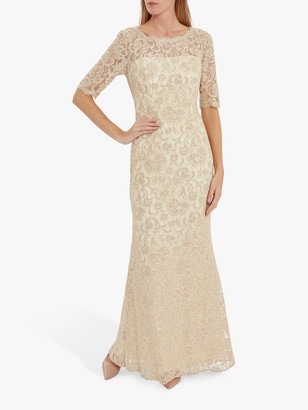 Gina Bacconi Selinda Lace Maxi Dress