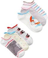 Disney Women's 6-Pk. Assorted Candy No-Show Socks