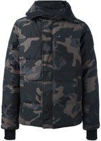 Canada Goose zipped hooded coat