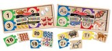 Melissa & Doug Toddler Letters And Numbers Puzzles