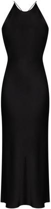 Rosetta Getty Open-Back Maxi Dress