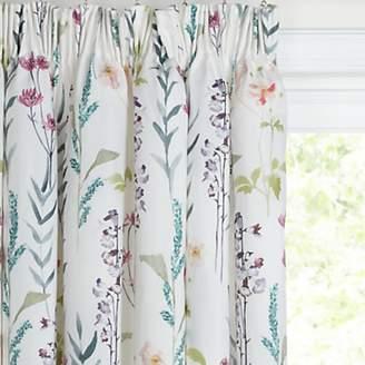 John Lewis & Partners Longstock Pair Lined Pencil Pleat Curtains, Multi