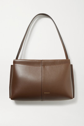 Wandler Carly Mini Leather Tote - Chocolate