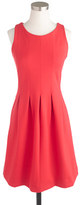 J.Crew Tall pleated flare dress