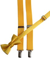 Tuxgear Bow Tie and Suspender Set Combo in Men's & Kids Sizes