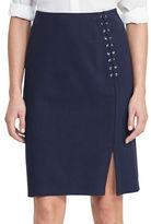 Lauren Ralph Lauren Petite Ponte Pencil Skirt