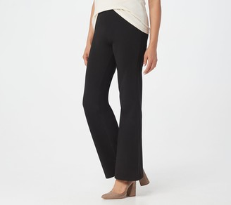 "Women With Control Women with Control Petite ""Leah"" Pull-On Boot-Cut Pants"