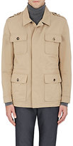 Isaia Men's Twill Field Jacket