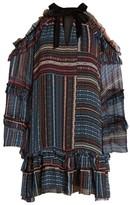 Parker Women's Bianca Cold Shoulder Silk Shift Dress
