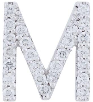 18kt white gold ALINKA ID diamond stud earring