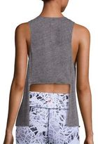 Vimmia Pacific Heathered Tie-Back Tank Top
