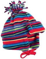 Jo-Jo JoJo Maman Bebe Polarfleece Pom-Pom Hat (Baby) - Rainbow-0-12 Months