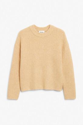 Monki Classic knit sweater