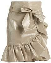 Isabel Marant Liliko ruffled wrap skirt