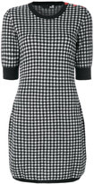Love Moschino knitted gingham dress - women - Acrylic/Polyamide/Wool/Alpaca - 38