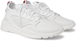 Moncler Anakin Textured-Leather And Rubber Sneakers