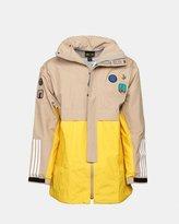 adidas Pharrell Williams HU Hiking 3-Layer Jacket (Hemp | EQT Yellow)