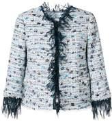 Blumarine distressed style jacket