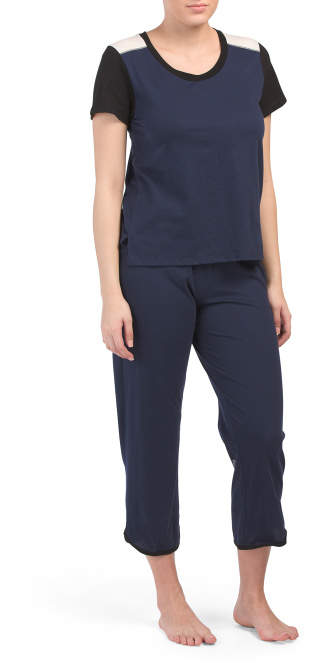 0a8f6c37c439 Pajama Set Elastic Waist Pant - ShopStyle