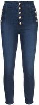 J Brand Natasha button-up skinny jeans