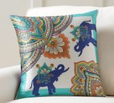 Pottery Barn Elephant Scarf Print Pillow Cover