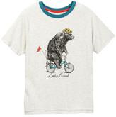 Lucky Brand Bicycle Bear Tee (Big Boys)
