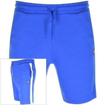 Lyle & Scott Logo Sweat Shorts Blue