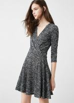 MANGO Wrap Dress
