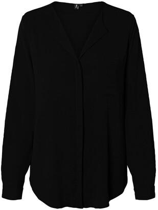 Vero Moda V-Neck Blouse with Long Sleeves