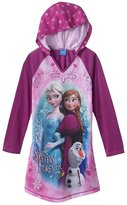 "Disney Frozen ""Sisters Forever"" Hooded Nightgown - Girls 4-6x (S 6/6x)"