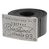 Firetrap Blackseal Plate Belt