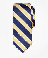 Brooks Brothers Herringbone Stripe Silk Tie