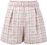 Miu Miu tweed shorts - women - Cotton/Viscose/Wool - 38