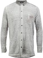 Avant Toi linen shirt - men - Linen/Flax - L