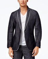 INC International Concepts Men's Slim Indigo Blazer, Only at Macy's