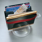 Design Studio Si-Q Carbon Fibre Clam Shell Wallet With Copper Leaf Edges