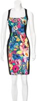 Just Cavalli Floral Print Sleeveless Dress
