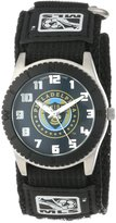 Game Time Men's MLS-ROB-PHI Philadelphia Union Rookie Black Round Analog Watch