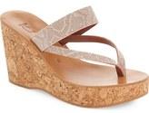 K Jacques St Tropez K.Jacques St. Tropez 'Saturnine' Cork Wedge Sandal (Women) (Nordstrom Exclusive)